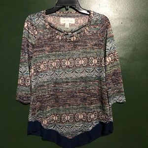 🔵French Laundry Colorful Assorted Design Med Top